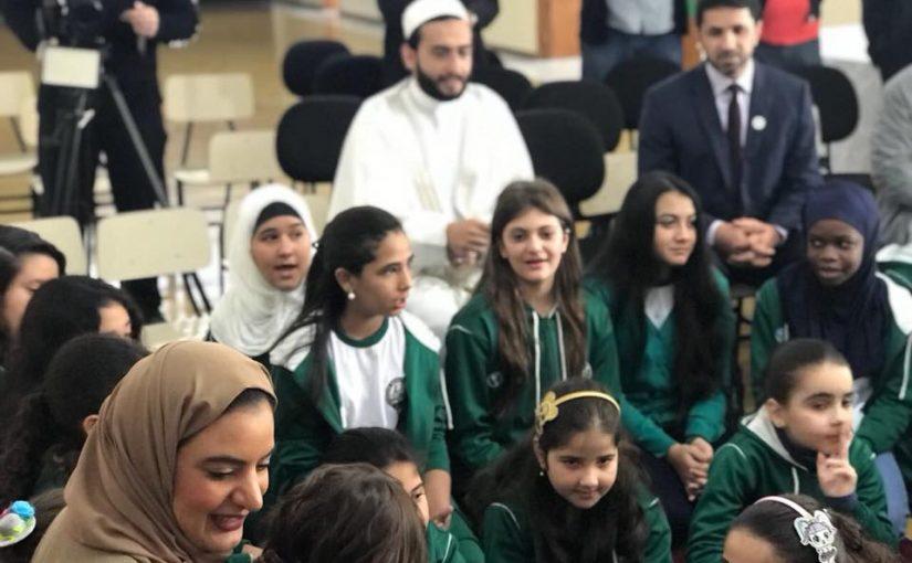 Visita do Cônsul Emirates em nossa Escola o Caminho da Fé